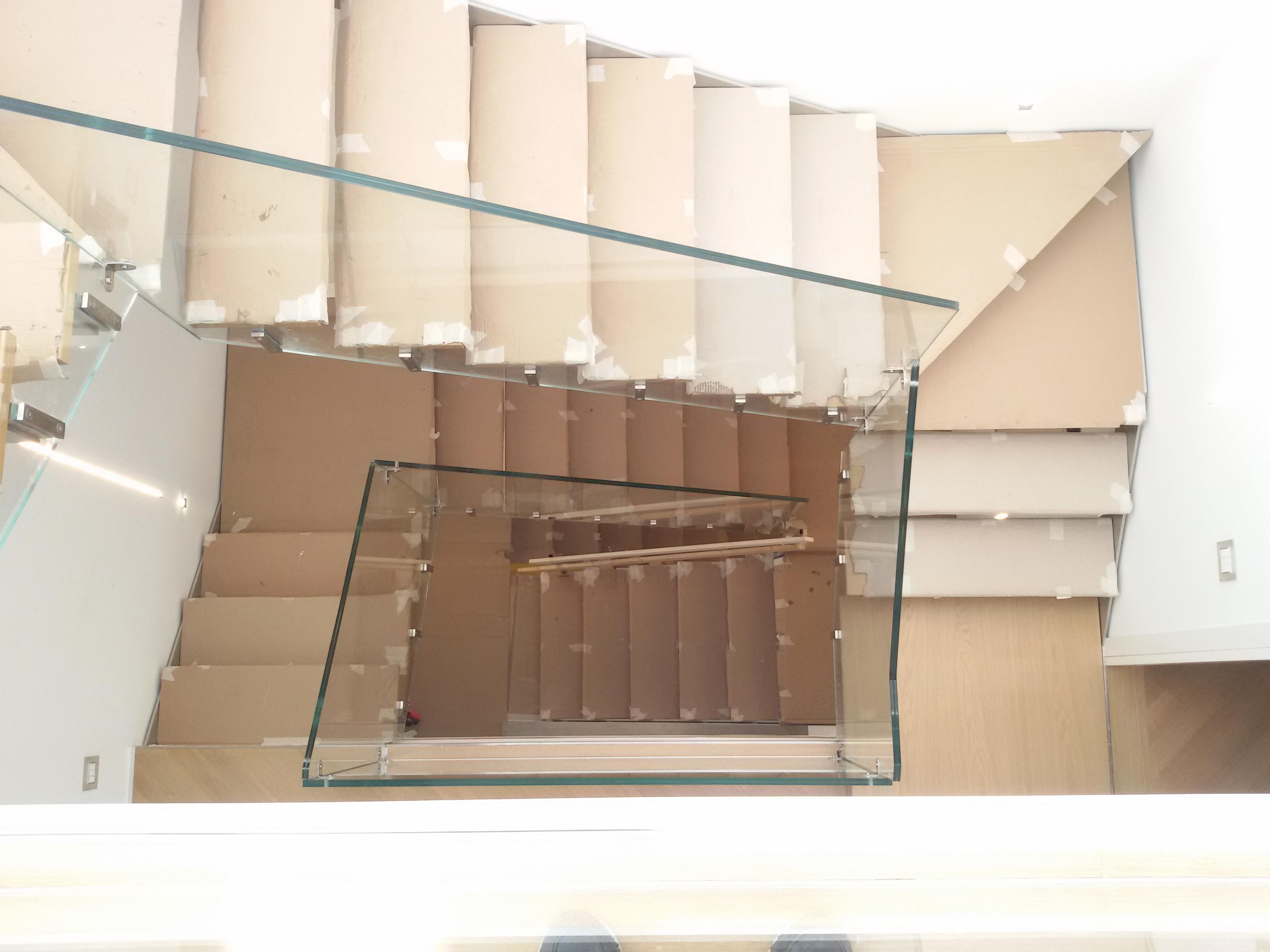 Parapetti In Vetro Per Interni parapetti interni – esseline – il vetro per l'arredo